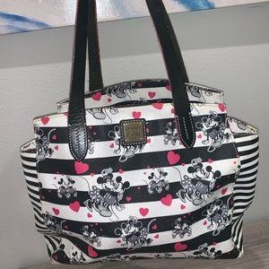 Dooney & Bourke Disney Mickey and Minnie tote bag